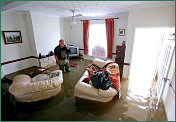 water damage Brecksville OH